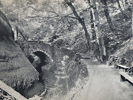 'Shanklin - The Chine', 1895-Unknown-Photographic Print