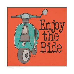 Vespa - Enjoy the Ride by Shanni Welch