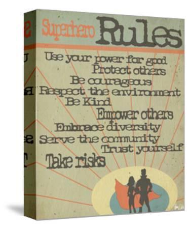 Superhero Rules by Shanni Welsh