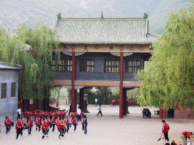 Shaolin Monastery, Shaolin, Birthplace of Kung Fu Martial Art, Henan Province, China-Kober Christian-Photographic Print