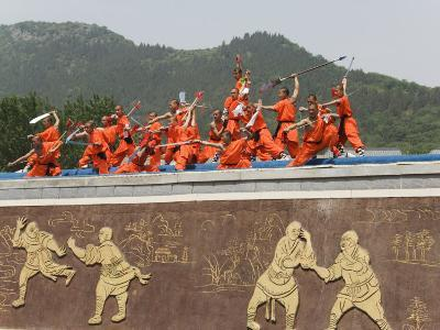Shaolin Temple, Shaolin, Birthplace of Kung Fu Martial Art, Henan Province, China-Kober Christian-Photographic Print