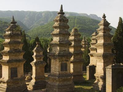Shaolin Temple, the Birthplace of Kung Fu Martial Arts, Shaolin, Henan Province, China-Kober Christian-Photographic Print