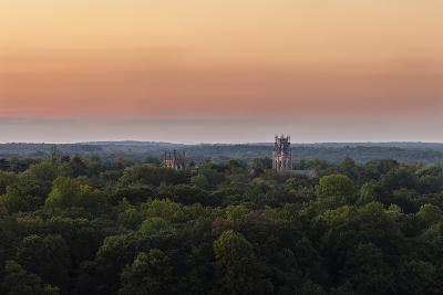 Shapard and Bresslen Towers Rise Over the Forest in Sewanee, Tenn-Stephen Alvarez-Photographic Print