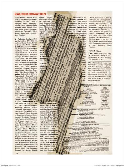 Shape III, Collage, 1992-J?rg Geismar-Art Print