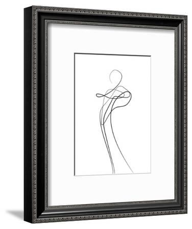 Shape of You 1-Design Fabrikken-Framed Premium Giclee Print