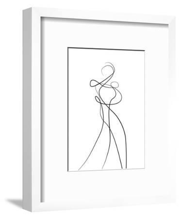Shape of You 2-Design Fabrikken-Framed Premium Giclee Print