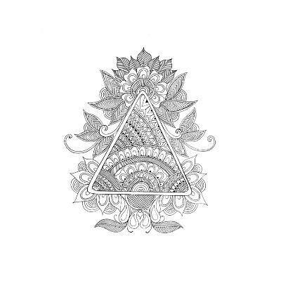 Shape Pattern 2-Neeti Goswami-Art Print