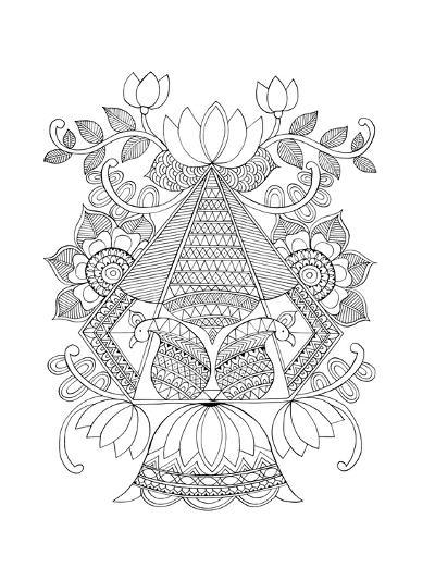 Shape Pattern 3-Neeti Goswami-Art Print