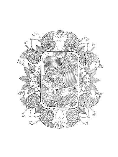 Shape Pattern 4-Neeti Goswami-Art Print