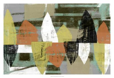 Shape Stack II-Jennifer Goldberger-Art Print