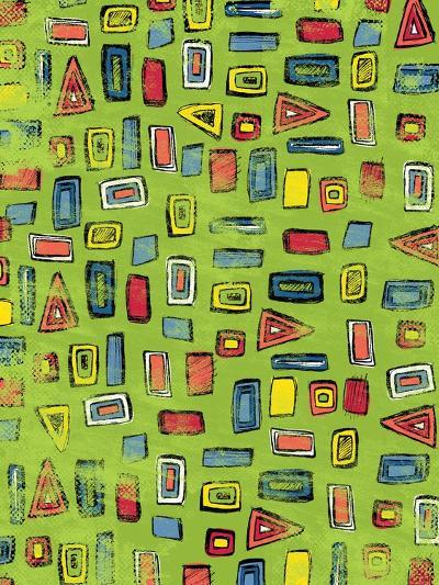 Shapes Pattern-Esther Loopstra-Giclee Print