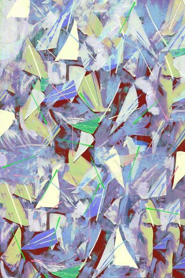 Shards, Splinters and Pine Needles; 2017-David McConochie-Giclee Print