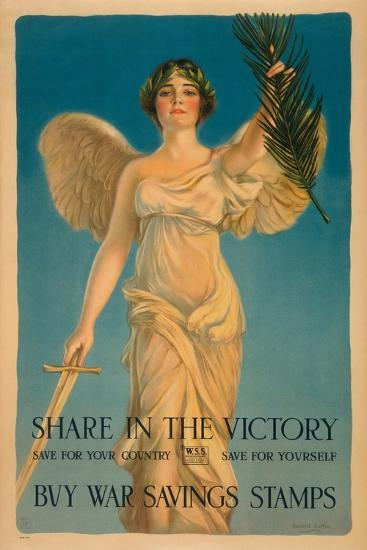 Share in the Victory-Haskell Coffin-Art Print