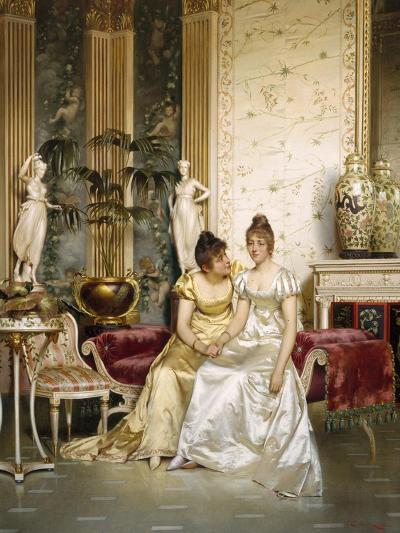Shared Confidence-Joseph Frederic Soulacroix-Giclee Print