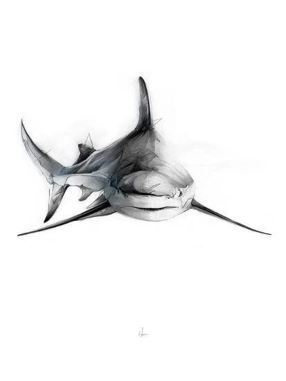 Shark 2-Alexis Marcou-Art Print