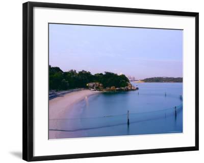Shark Beach, Nielsen Park, Vaucluse-Oliver Strewe-Framed Photographic Print