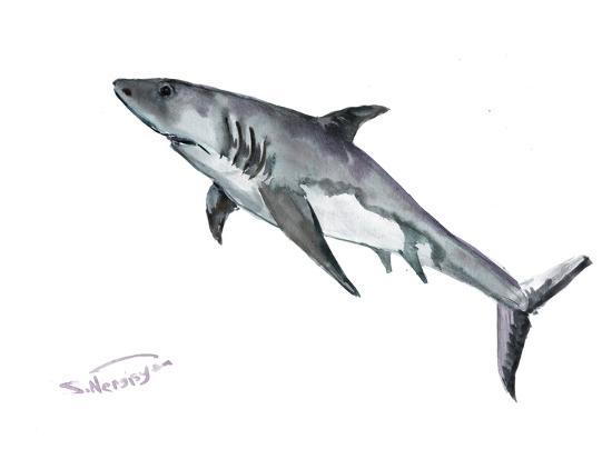 Shark-Suren Nersisyan-Art Print