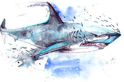 Shark-okalinichenko-Art Print