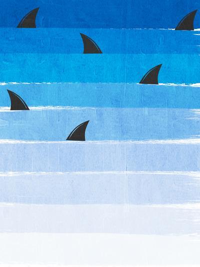 Sharks-Charlotte Winter-Art Print