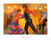 La Celebracion del Baile-Sharon Carson-Art Print