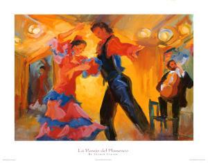 La Pareja del Flamenco by Sharon Carson