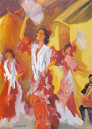 Los Bailarines de Flamenco