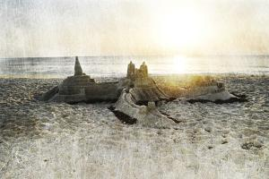 Sand Castle I by Sharon Chandler
