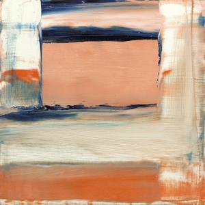 Orange & Blue II by Sharon Gordon