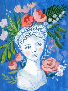 Mykonos Bust I by Sharon Montgomery