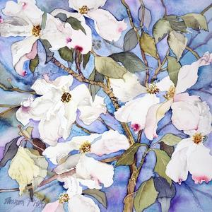 Dogwoods, White by Sharon Pitts
