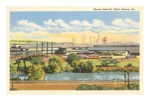 Sharon Steel Plant, Sharon, Pennsylvania