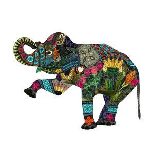 Asian Elephant by Sharon Turner