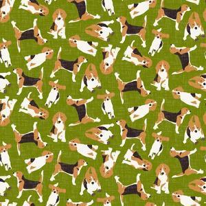 Beagle Scatter (Variant 3) by Sharon Turner