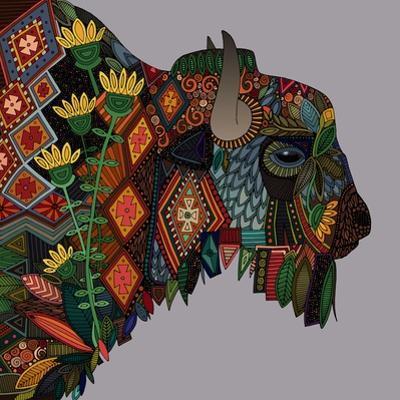 Bison Heather by Sharon Turner