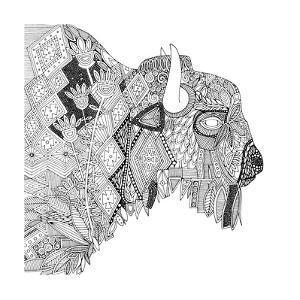 Bison (Variant 1) by Sharon Turner