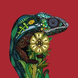 Chameleon Red by Sharon Turner