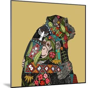 Chimpanzee Love Biscuit by Sharon Turner