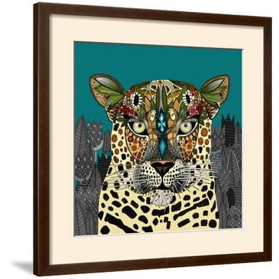 Leopard Queen Teal