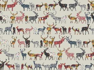 Oatmeal Spice Deer by Sharon Turner