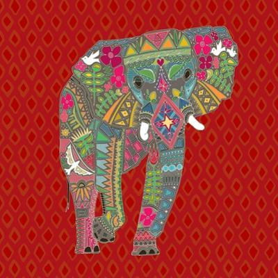 Painted Elephant Diamond by Sharon Turner