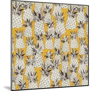 Pineapple Sunshine Yellow by Sharon Turner