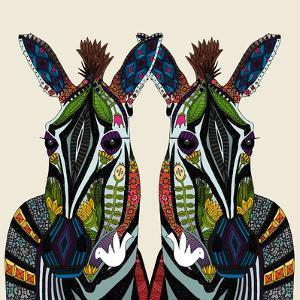 Zebra Love Ivory by Sharon Turner