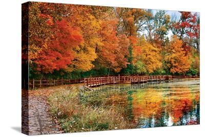 Sharon Woods - Ohio--Stretched Canvas Print