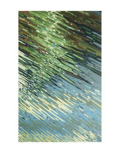 Sharp Ripples-Margaret Juul-Art Print