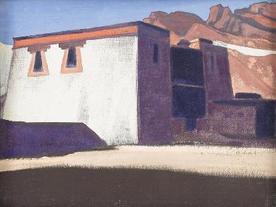 Sharugon Monastery, Tibet, 1928-Nicholas Roerich-Giclee Print