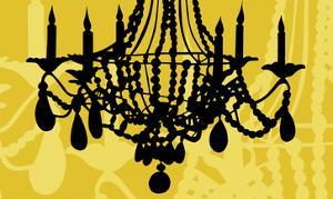 Chandelier 6 Yellow by Sharyn Sowell