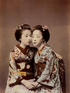 Two Women by Shashin