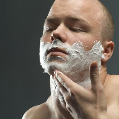 Shaving Foam-Coneyl Jay-Photographic Print