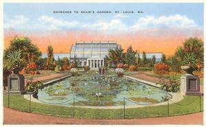 Shaw's Garden, St. Louis