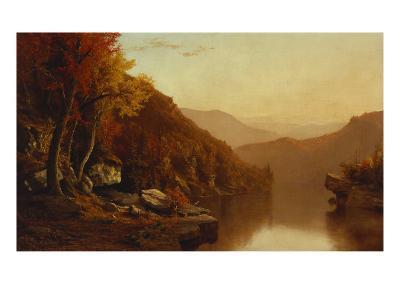 Shawanagunk Mountains, Autumn, 1863-Jervis Mcentee-Giclee Print